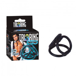 PIERŚĆIEŃ TRI RING COCK...