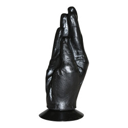 DILDO DŁOŃ ALL BLACK...